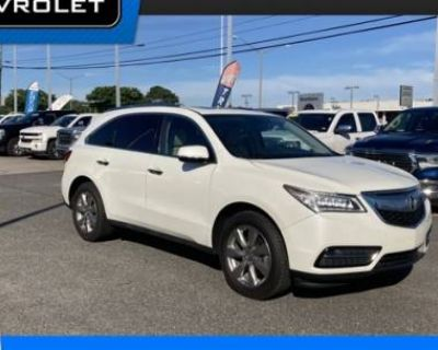 2015 Acura MDX Advance with Entertainment Package