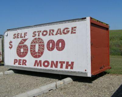 Aluminum Storage Units