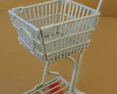 Doll shopping cart (shown with a Barbie for size comparison)