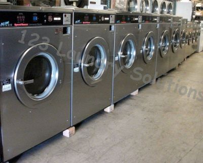 Heavy Duty Speed Queen Front Load Washer 50Lb 208-240V 60Hz 3Ph SC50MD2 Used