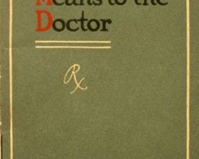 1910 Ford Sales Brochure What The Motor Car Means To The Doctor Original Model T