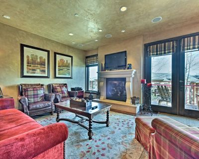 Charming Ski-In/Ski-Out Park City Condo w/Hot Tub! - Park City