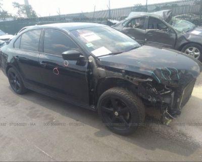 Salvage Black 2016 Volkswagen Jetta Sedan