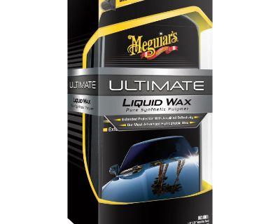 Meguiar's Ultimate Liquid Wax, G18216, 16 Oz, Lot of 5 Kits