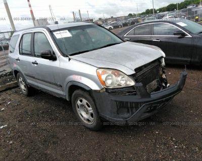Salvage Silver 2005 Honda Cr-v