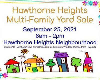 Multi-family Neighbourhood Yard Sale