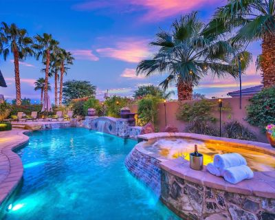 Tuscany: Pool, Spa, Fire Pit, Ping Pong Games - Indio
