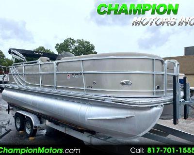 Used 2014 SouthBay Pontoon 422CR Pontoon Boat w/Mercury 115HP 4 Stroke
