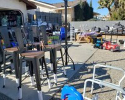 huge yard sale Friday and saturday