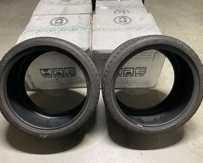 Full Set Michelin Pilot Alpin Winter Tires 305/30/20 245/35/20 90%tread