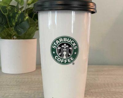 Starbucks 12 oz Ceramic Tumbler