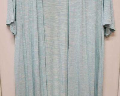 NWT Lane Bryant Short-sleeved Knit Duster; size 26/28