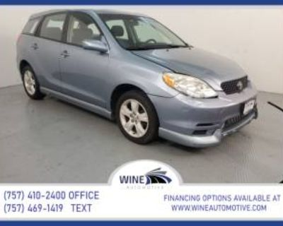 2003 Toyota Matrix XR FWD Automatic