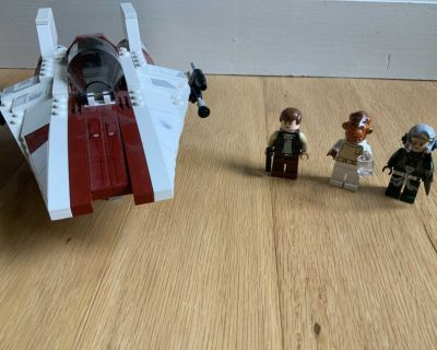 Lego Star Wars A-wing star fighter