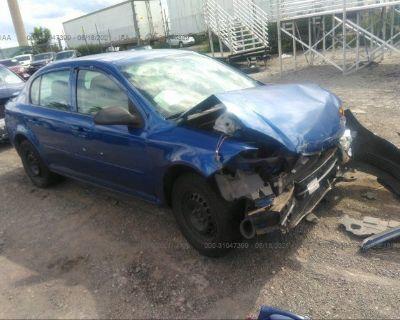 Salvage Blue 2005 Chevrolet Cobalt