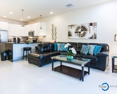 Disney On Budget - Serenity - Amazing Spacious 3 Beds 3 Baths Townhome - 5 Miles To Disney - Four Corners