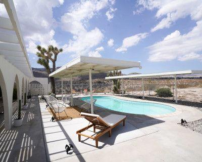 A Mid Century Modern Desert Oasis, Twentynine Palms, CA