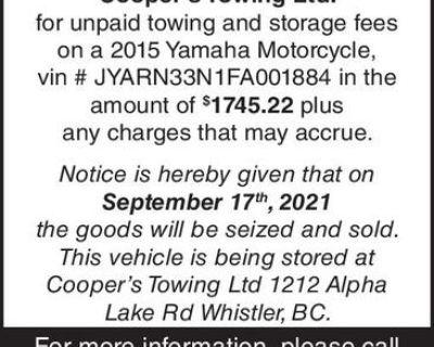 Warehouse Lien act
