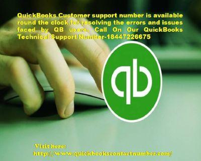 QuickBooks Support  Number 18447226675 QB Customer Service