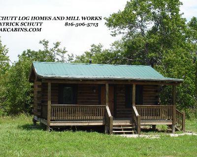 Hunting Cabin kit- Oak Log