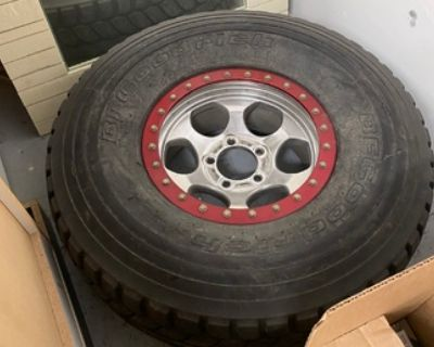 37 wheel and tires