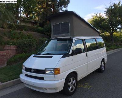 1993 Eurovan 5 speed Pop-top Westfalia Weekender