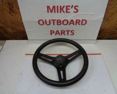 "New 3 Spoke Steering Wheel ""d"" 13 Diam. 3.25"" Deep@@check This Out@@@"