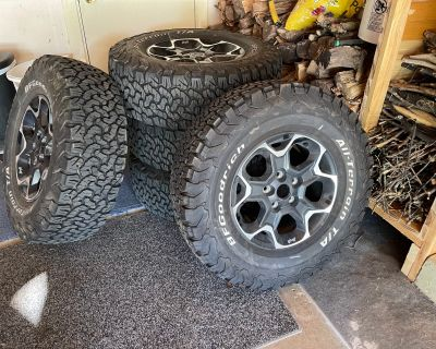 Wisconsin - Rubicon take offs 33 inch tires and wheels