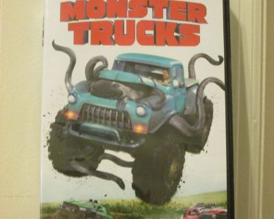 Monster Trucks Dvd