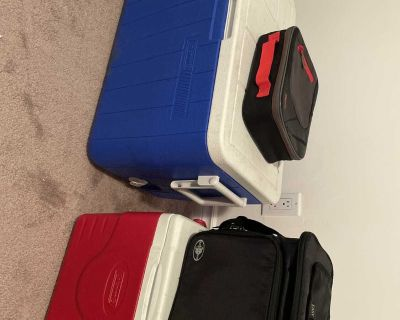 Coolers and food storage container