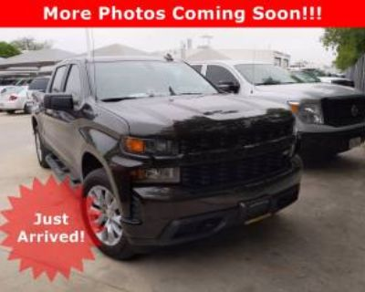 2020 Chevrolet Silverado 1500 Custom Crew Cab Short Bed 2WD