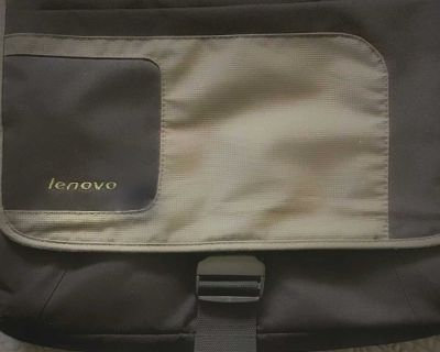"""Green and Black Lenovo Messenger Max 15.4"""" Notebook Carrying Case Model 41U5253"""
