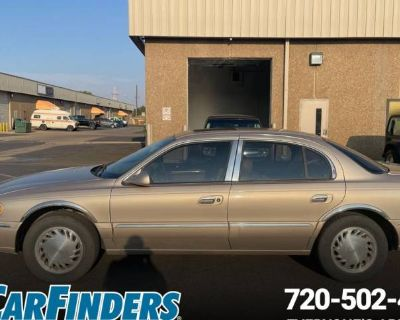 1998 Lincoln Continental Standard