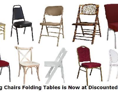 Folding Chairs Folding Tables is Now at Discounted Price