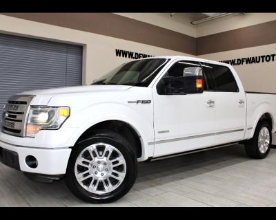 Used 2013 Ford F-150 Platinum SuperCrew 5.5-ft. Bed 2WD