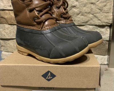 Sperry Duck Boots Toddler 8