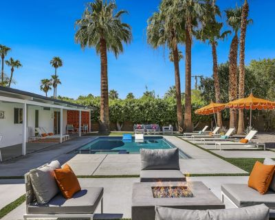 Iconic Palm Springs Meiselman home with spectacular Mountain Views - Sunrise Park