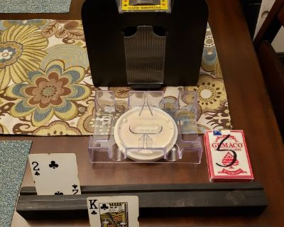 LAST CHANCE REDUCED PLAYING CARD SET UP