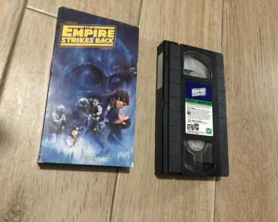 Star Wars Empire Strikes Back VHS Tape - Excellent Condition