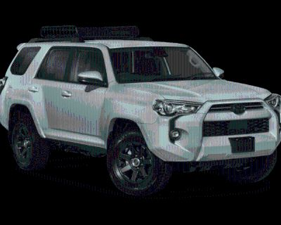 New 2022 TOYOTA 4 RUNNER Trail Special Edition 4 door Four Wheel Drive