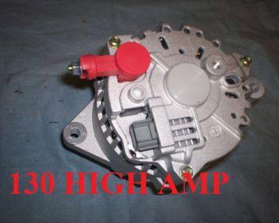 6g Ford Mustang Alternator / Generator 130 High Amp 2001 02 2003 2004 3.8 3.9 V6