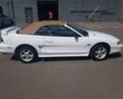 1997 Ford Mustang White, 9K miles