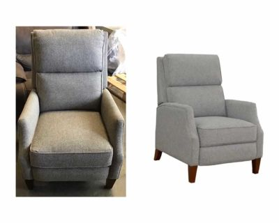 Synergy Home Lia Fabric Pushback Recliner