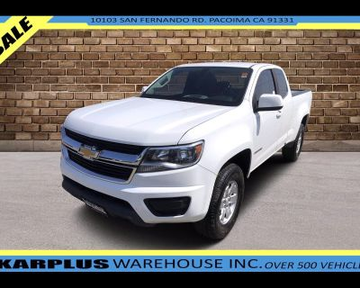 2019 Chevrolet Colorado Work Truck Ext. Cab 2WD
