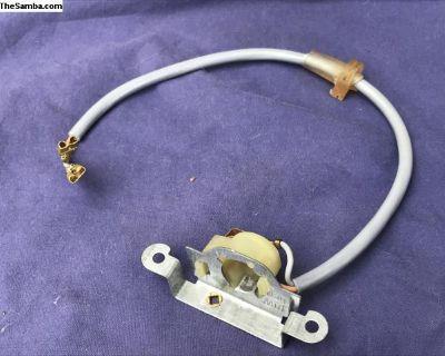 NOS License Light Bulb Holder 65 - 67 Hella