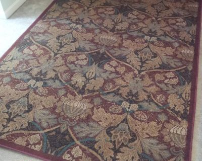 """Area Rug 63"""" x 94"""" Less than year old"""