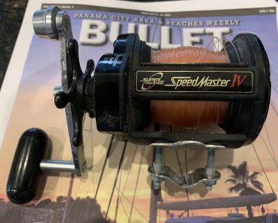 Shimano SpeedMaster IV 'Super High Speed' Reel (Reduced/OBRO)
