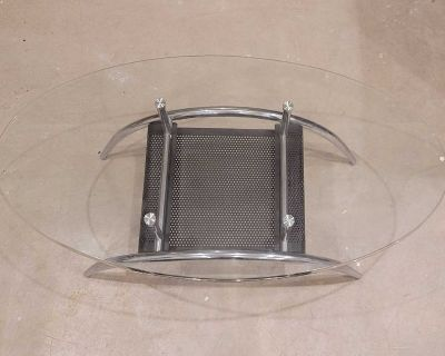 Perfect Condition glass sofa table almost new