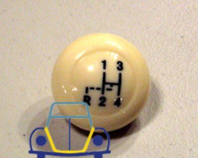 Beetle/Ghia/Bus Shifter Knob W/Shift Pattern 45/67