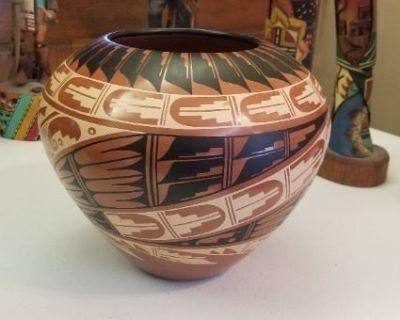 COUNTRY BOY ESTATE SALES Indian Kachinas, Bowls, Baskets, Etc.